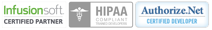 Certified Infusionsoft Hipaa and Authorize.net Developers